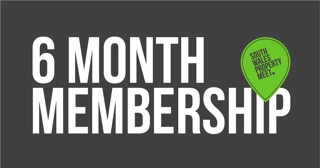South Wales Property Meet 6 Month Membership