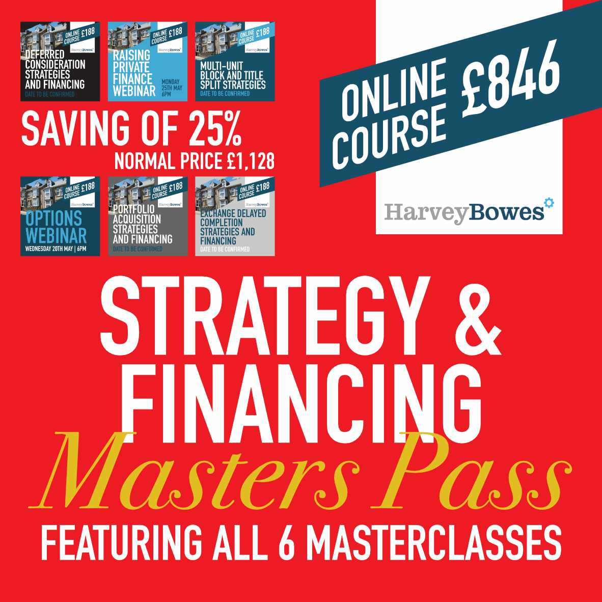 Financing & Strategies Masters Pass