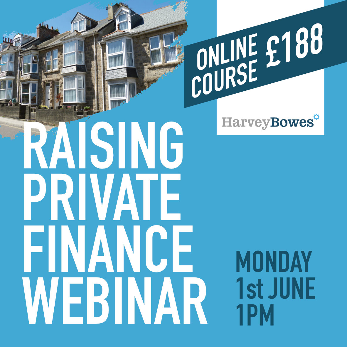 Raising Private Finance Webinar - Monday 1st June - 1pm