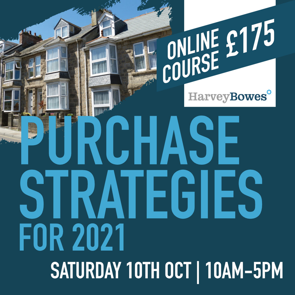 Purchase Strategies for 2021 Online Course - 10th oct